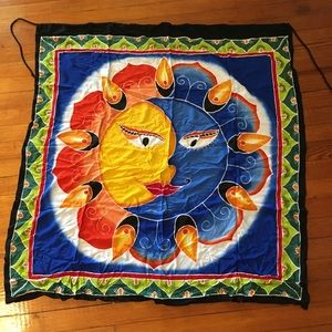 Earthbound Trading Company Sun Moon Wall Hanging